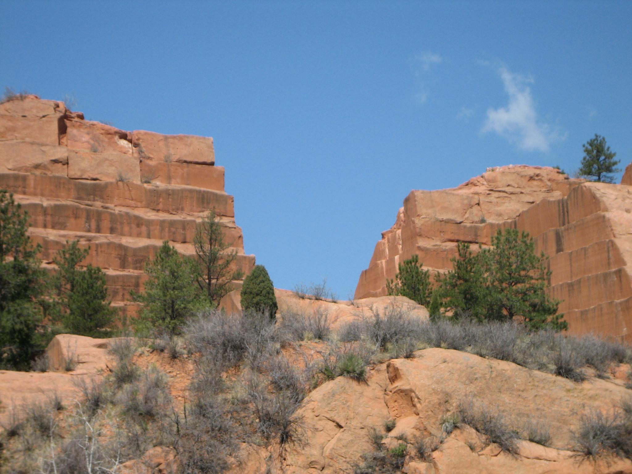 Red Rock Canyon Colorado Springs